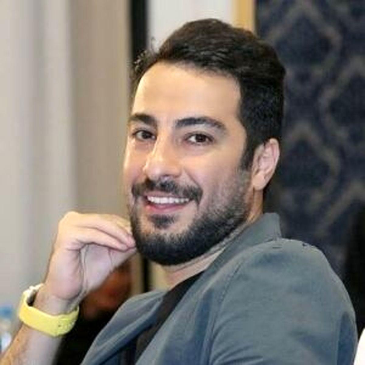 لباس های عجیب نوید محمدزاده بازیگر معروف