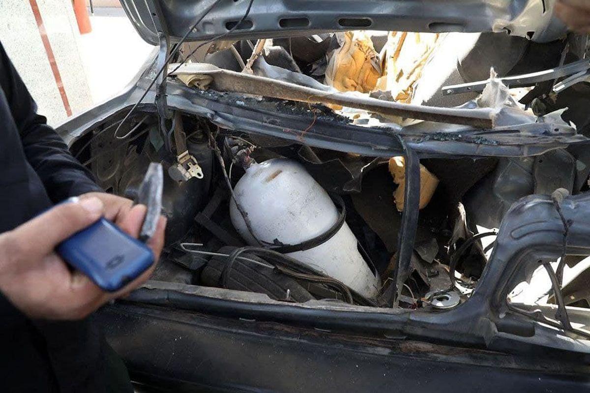 پمپ بنزین منفجر؛ مرد جوان زنده زنده سوخت + فیلم وحشتناک