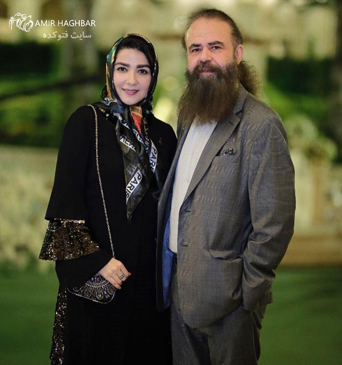 دل نوشته عاشقانه سارا صوفیانی برای همسرش
