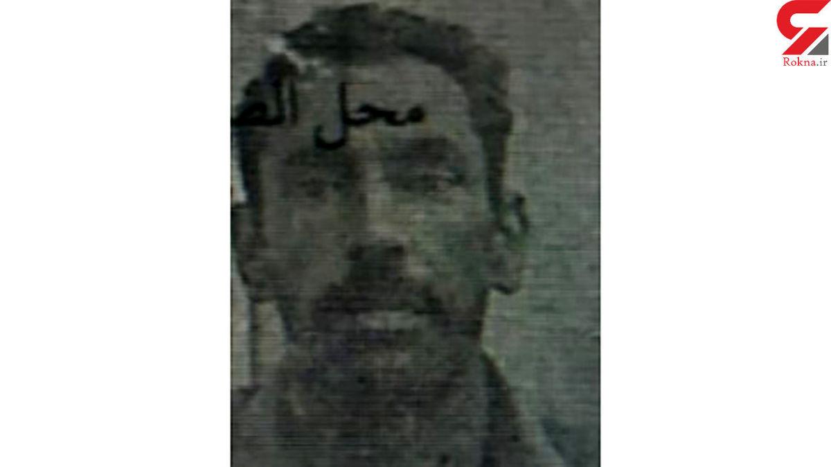 اولین عکس از چهره عامل قتل عام 8 نفر در صبح امروز اهواز