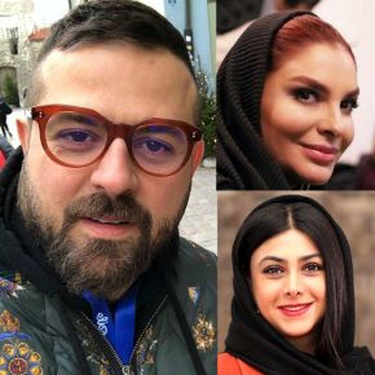 عاشقانه های هومن سیدی و همسر جدیدش +عکس هومن سیدی در کنار دخترش