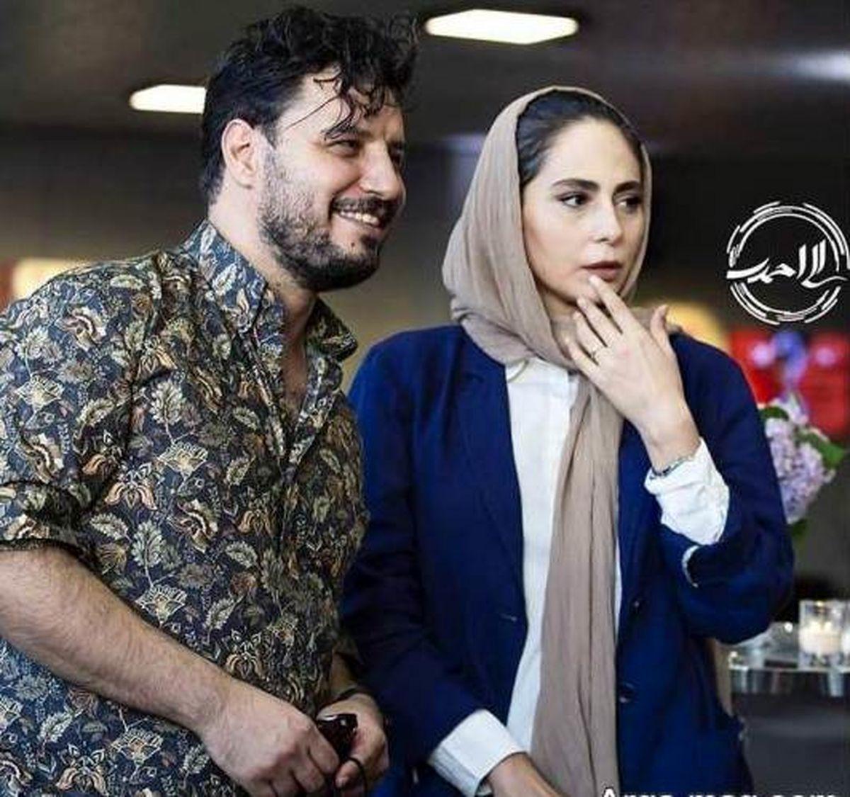 لاکچری بازی جواد عزتی و همسرش روی دریا! +تصاویر لورفته