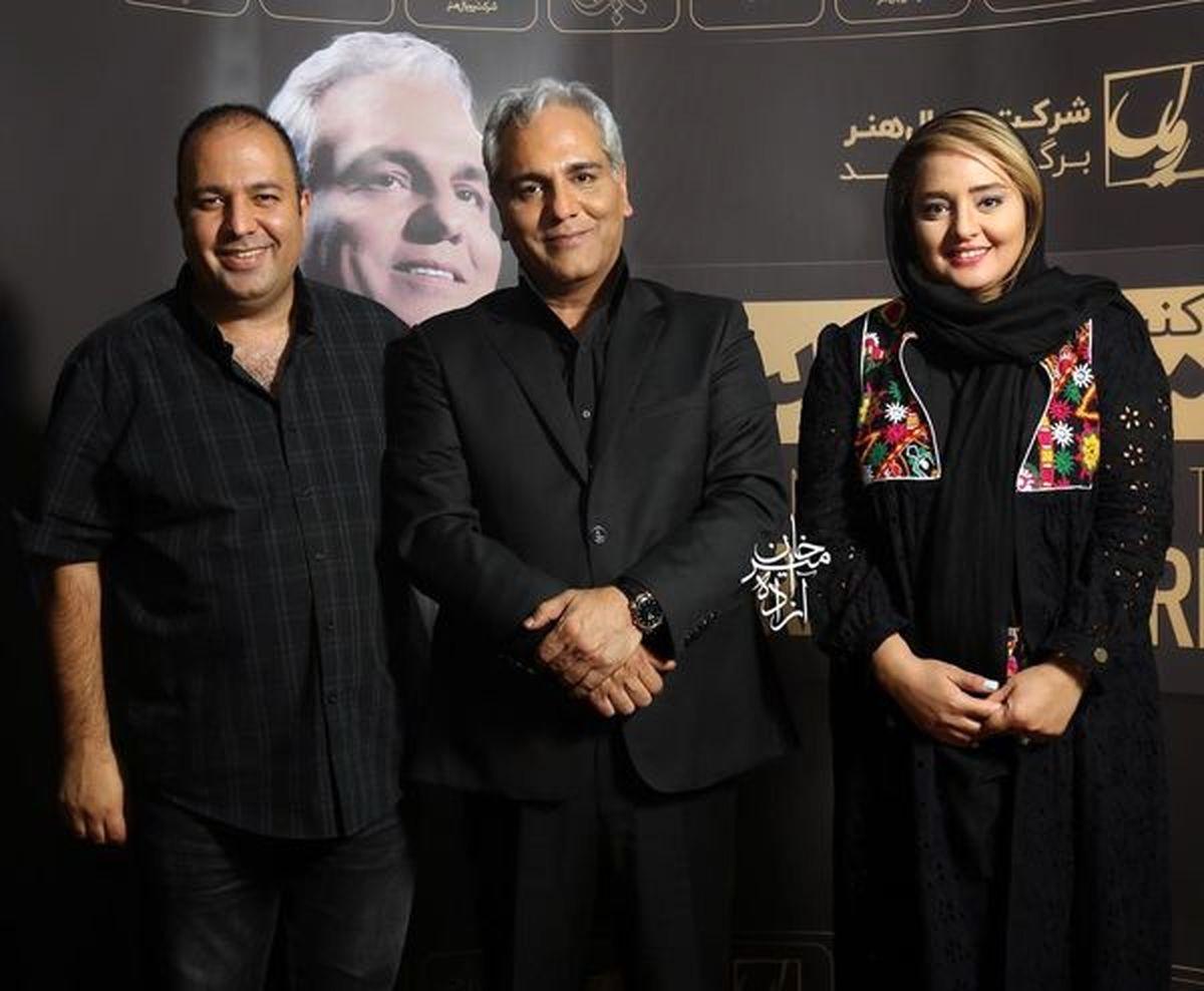 ژست های عجیب علی اوجی در کنار همایون شجریان!