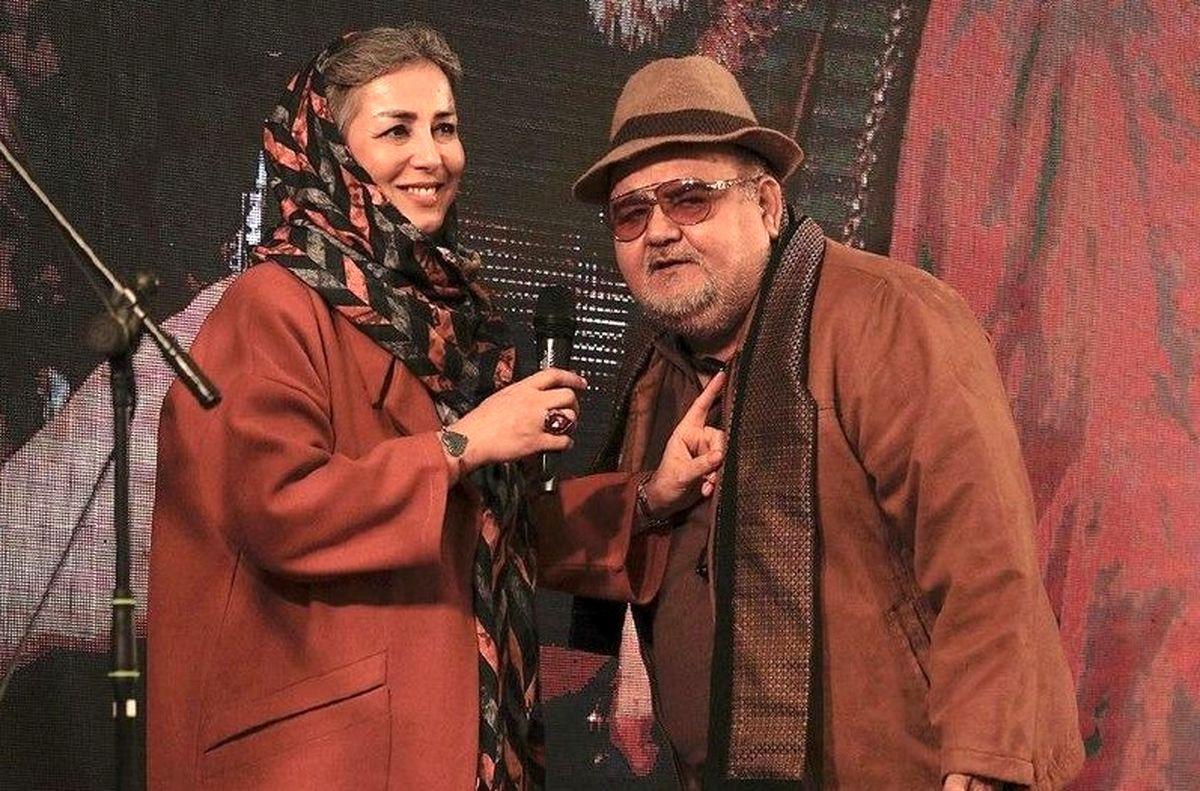 ناگفته های همسر اکبر عبدی از 30 سال زندگی مشترک! +فیلم