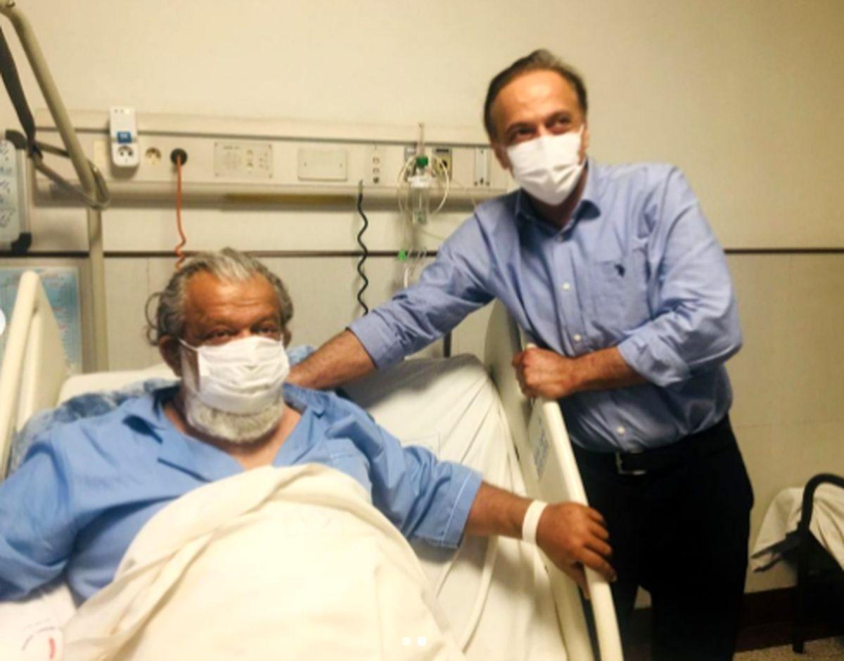 بازیگر معروف حسن پورشیرازی بیمارستانی شد/ حسن پورشیرازی در چه حالیست؟