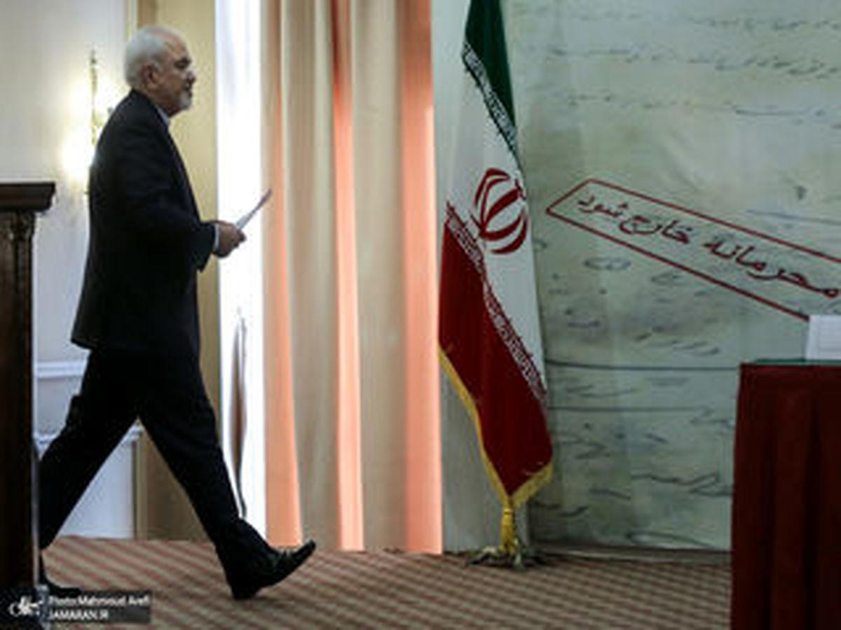 درخواست بخشش ظریف از مردم ایران و خانواده حاج قاسم