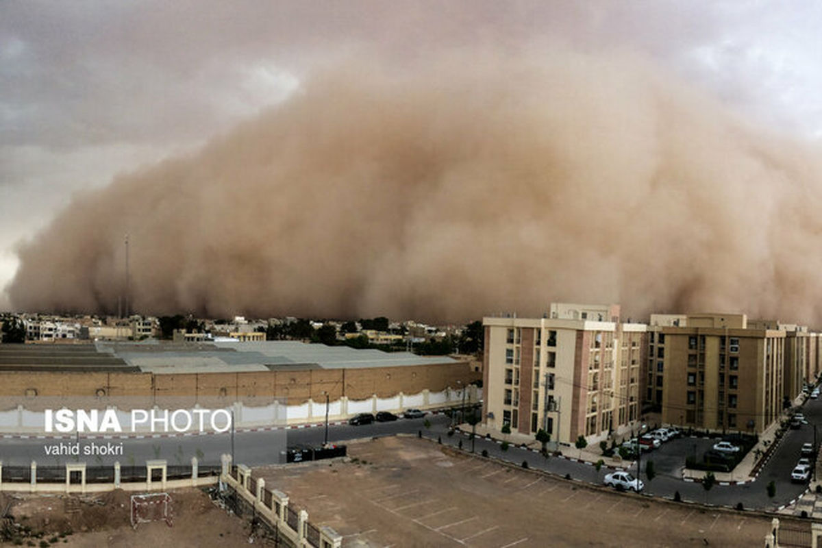 هشدار؛ وقوع طوفان شن در سه استان از امروز