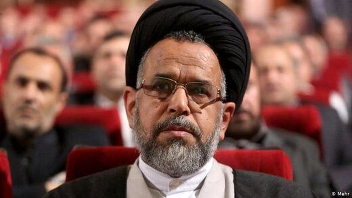 علوی وزیر اطلاعات عزادار شد