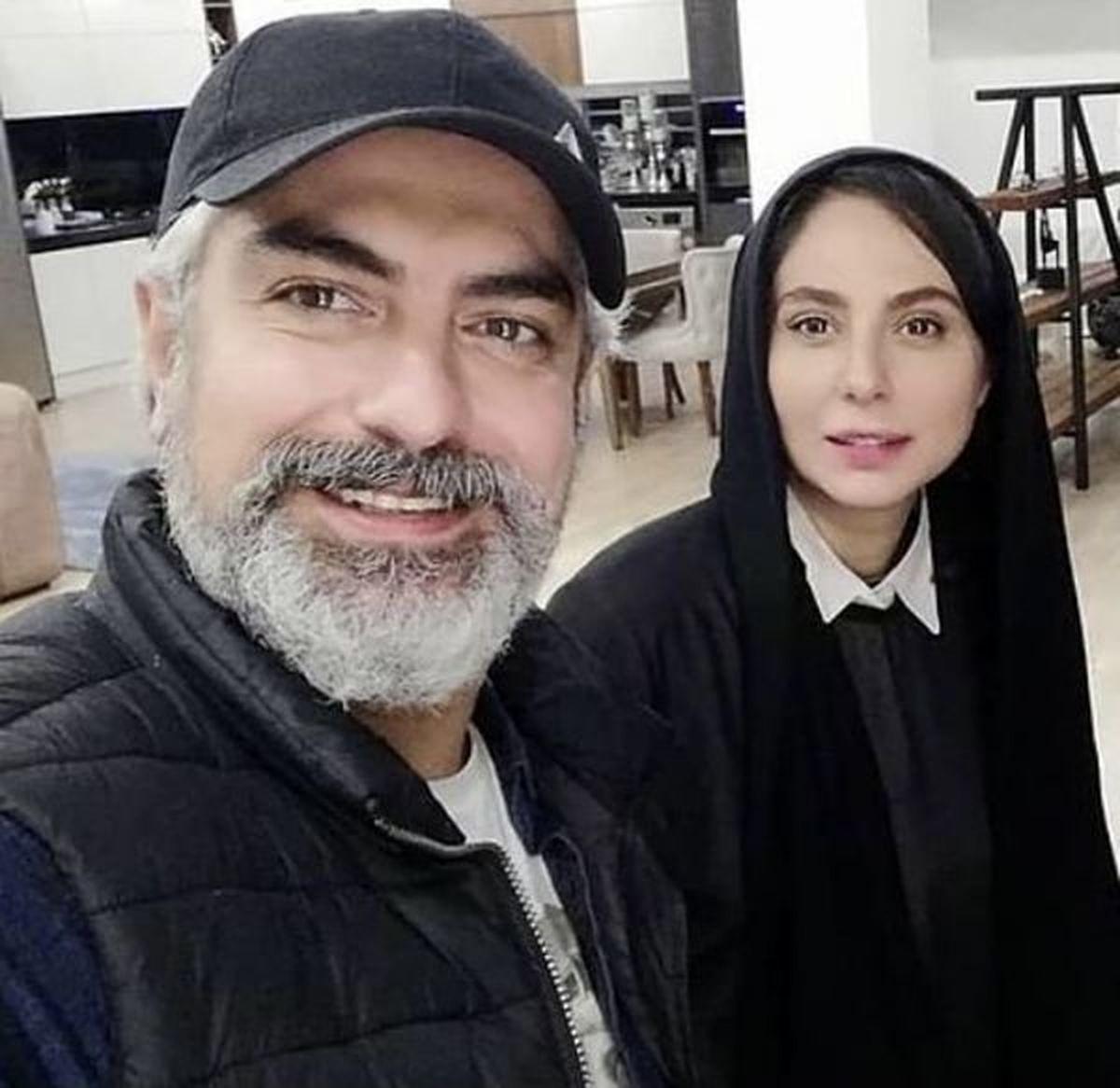 عاشقانه لاکچری مهدی پاکدل و همسر جدیدش؛ همسر دوم او کیست؟
