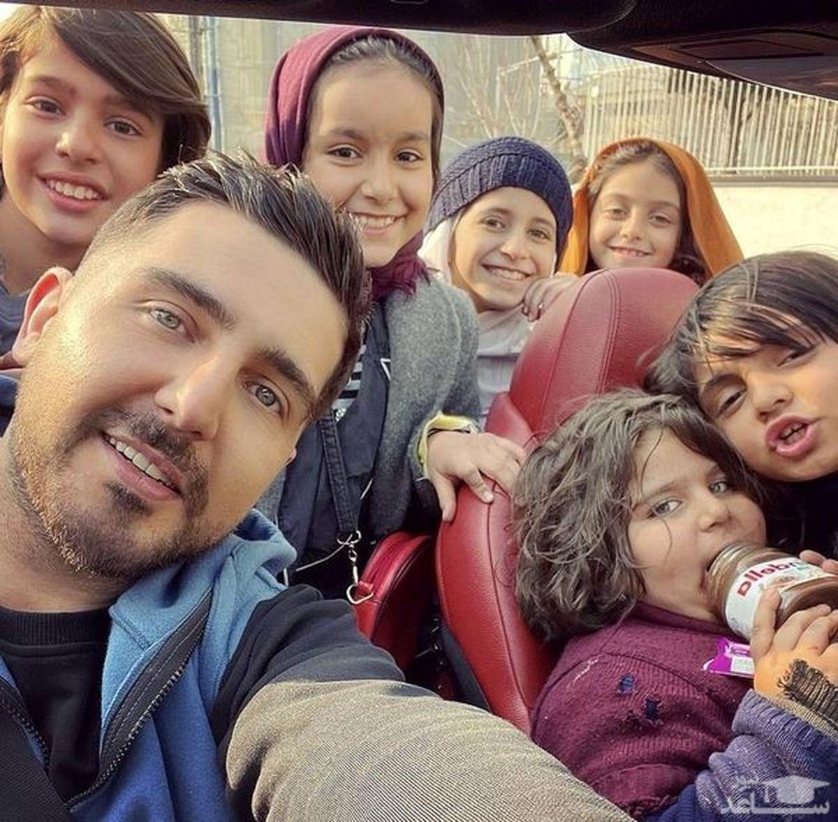 عکس دیدنی محمدرضا غفاری و باران کوثری در پشت صحنه
