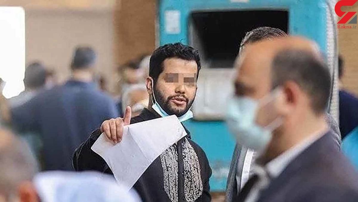 اولین عکس از میلاد حاتمی در دادسرای تهران! +فیلم جنجالی