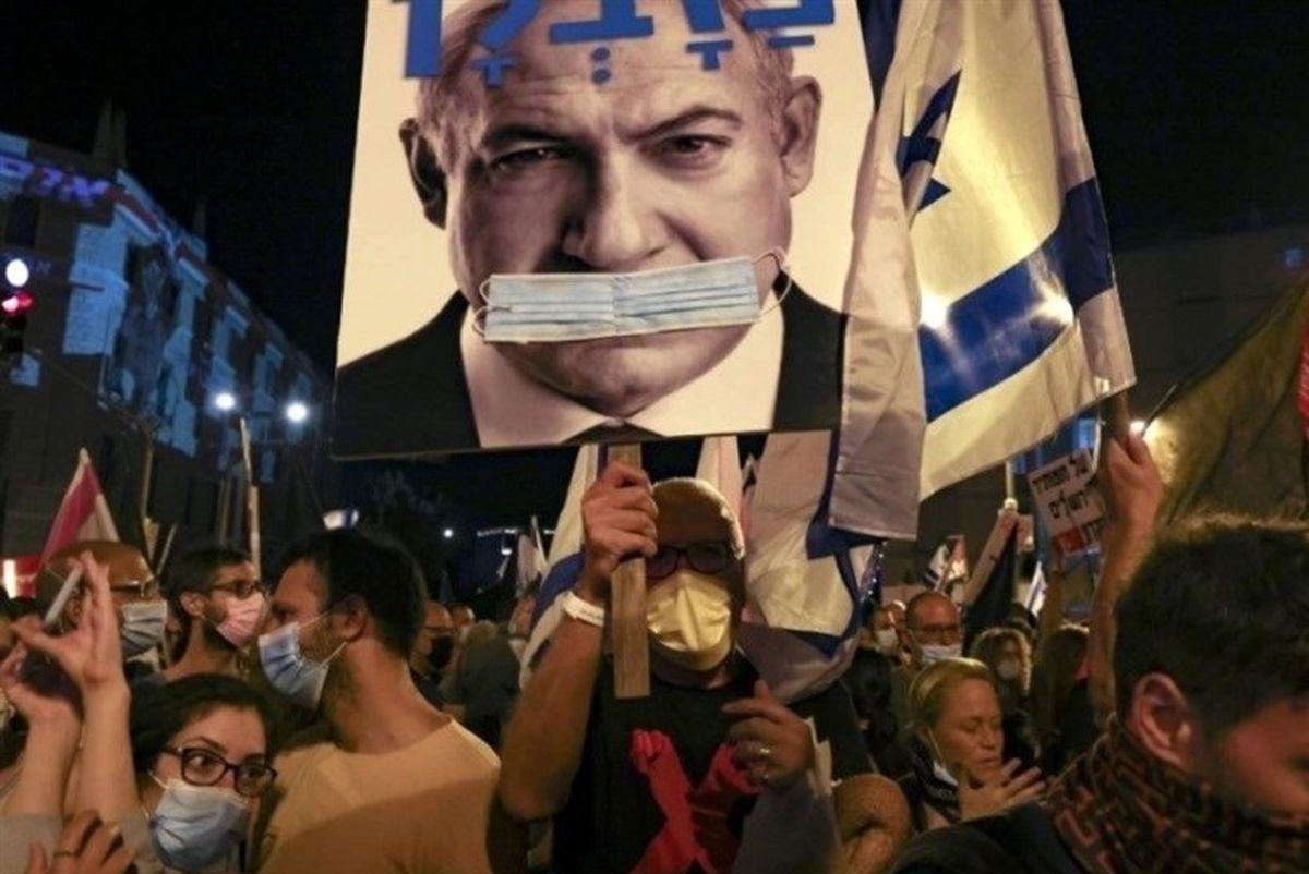 نتانیاهو در سراشیبی زوال!+تصاویر