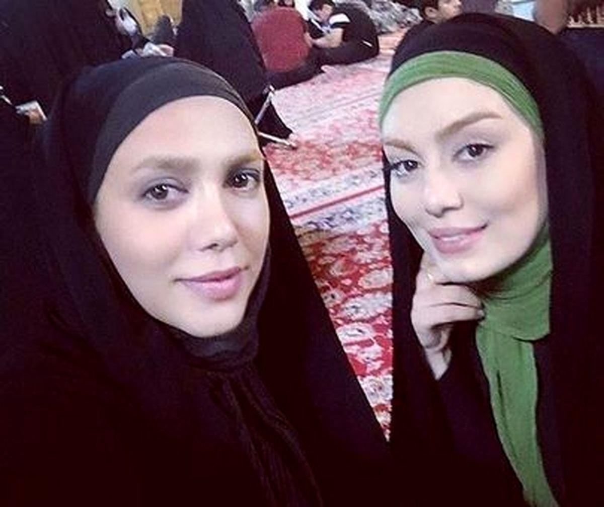 سحر قریشی افغانی است و خواهر ندارد! +عکس لورفته